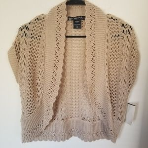Women's United States Brand Taupe Sweater   D7